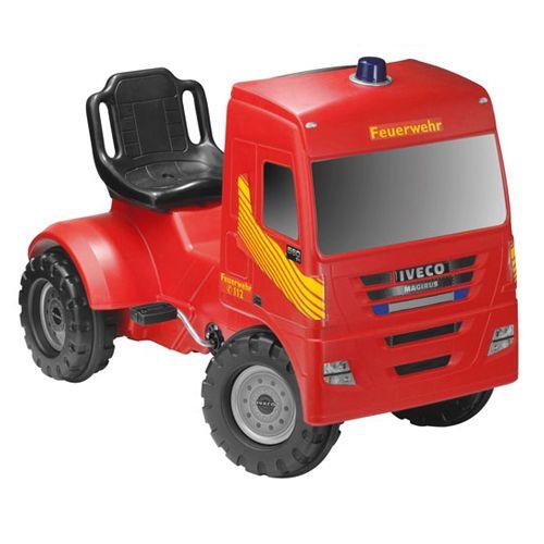 Camion Pompieri Iveco cu Pedale