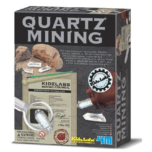 Set Arheologic Mina Quartz