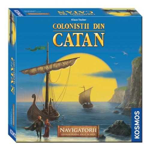 Colonistii din Catan -Extensie Navigatorii 3-4 Jucatori