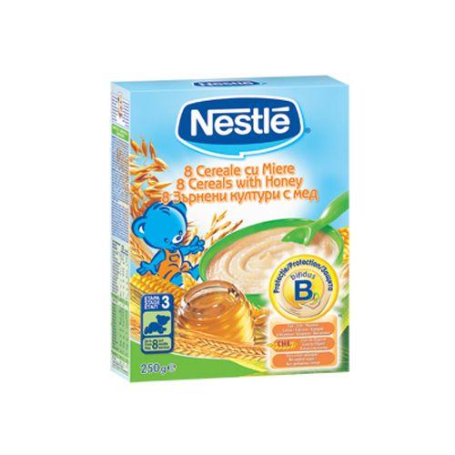 8 Cereale cu Miere si Bifidus BL 250G