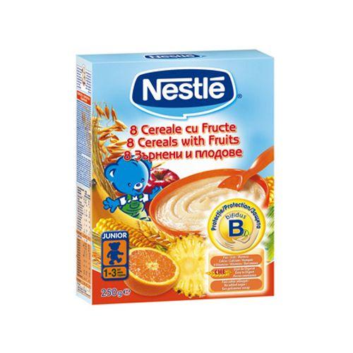 8 Cereale cu Fructe si Bifidus 250G