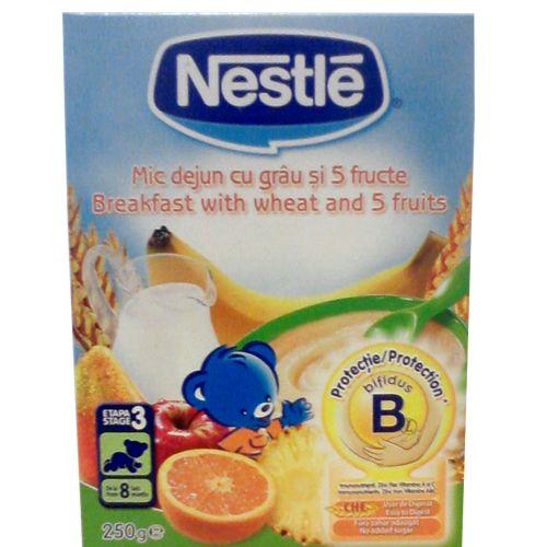 Mic Dejun cu Grau si 5 Fructe 250G