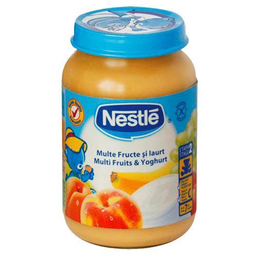 Piure de Multe Fructe si Iaurt 190G