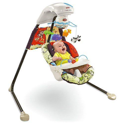 Leagan Love u Zoo Cradle n Swing