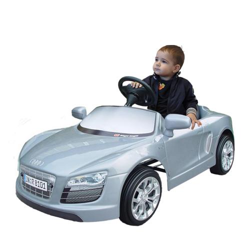 Audi R8 Spyder Argintiu