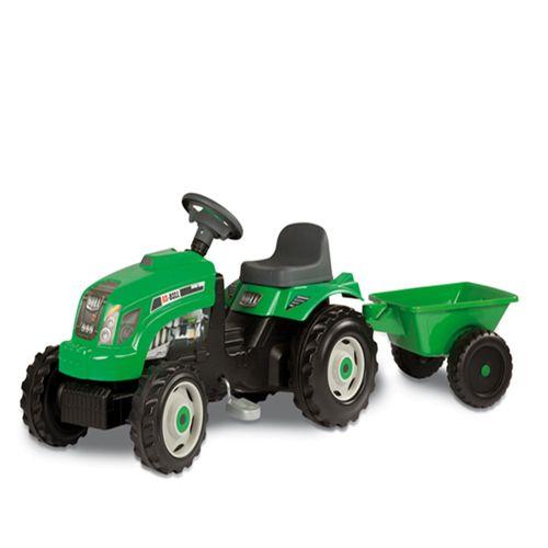Tractor Verde GM Bull cu Remorca