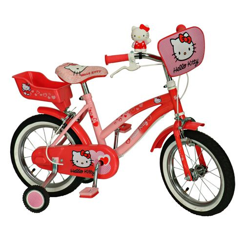 Bicicleta Hello Kitty 14