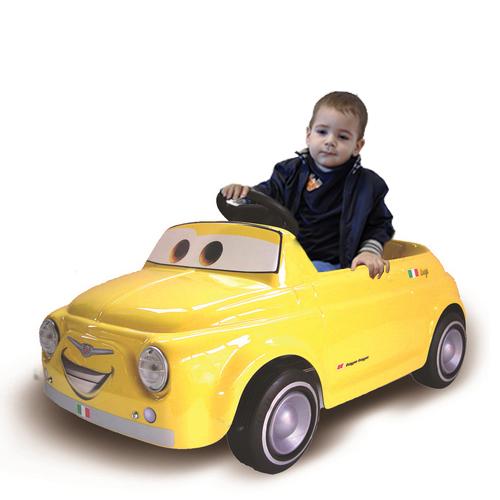 Fiat 500 Luigi cu Pedale
