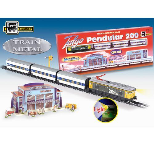 Trenulet Electric Talgo Pendular 200 cu Statie