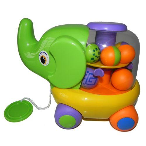 Jucarie Educativa Elefantel cu Bile