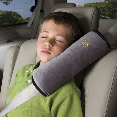 Seat Belt Pillow Grey - Pernuta Plus