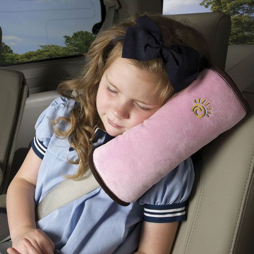 Seat Belt Pillow Pink - Pernuta Plus