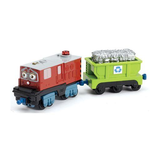 Tren Interactiv - Irving si Vagonul de Reciclare