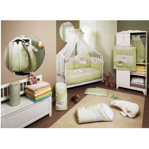 Lenjerie de Pat Duetto Rabbit Green