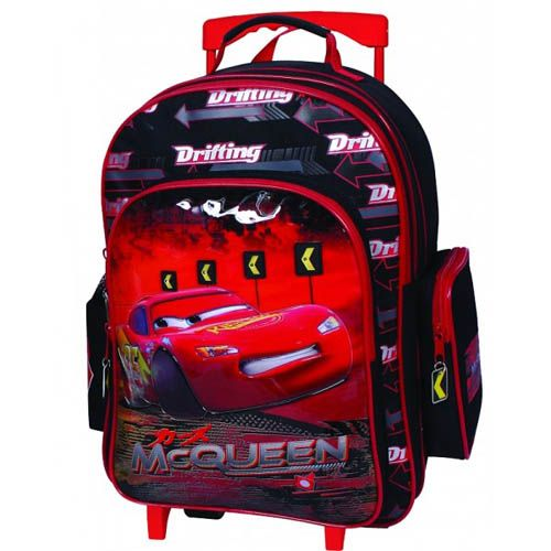 Troler Copii Oval Cars McQueen Dragon Fireball