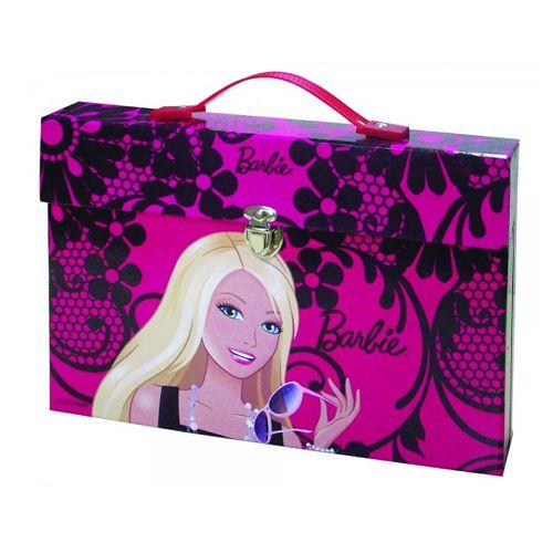 Set de Rechizite 66 Piese Barbie Flowers