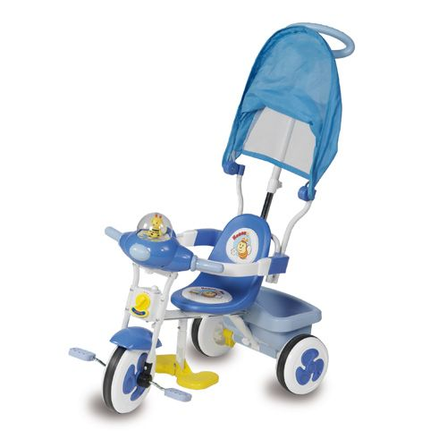 Tricicleta Baby Blue cu Parasolar