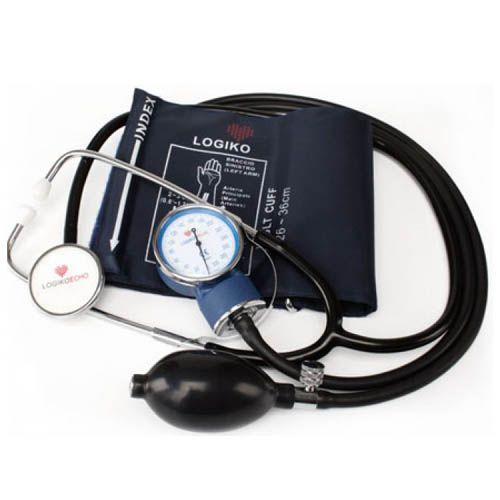 Tensiometru Mecanic + Stetoscop DM333