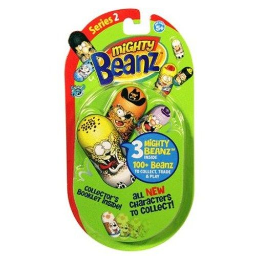 Mighty Beanz 2 Figurine pe Blister Seria 2