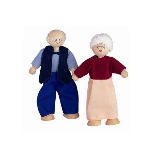 Papusa Din Lemn Bunica