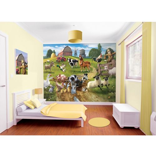 Tapet pentru Copii Farmyard Fun