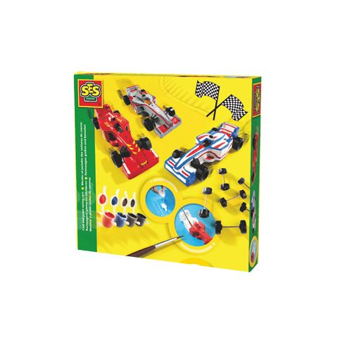 Cast And Paint Racing Cars