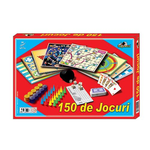 Cutie cu 150 de Jocuri