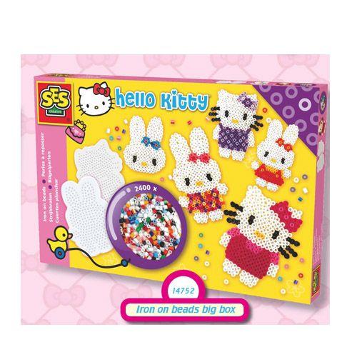 Iron On Beads Hello Kitty 2400