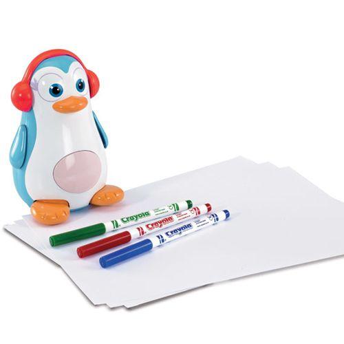 Pinguinul Desenator Doodle