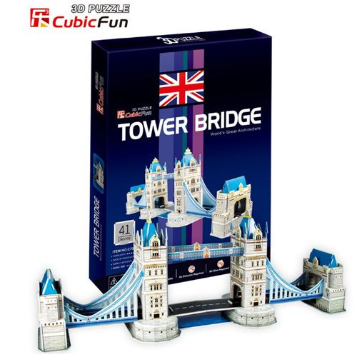 Puzzle 3D Tower Bridge 41 Piese