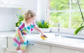 Sa ii invatam pe copii sa le placa curatenia