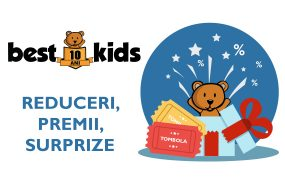 10 ani de BestKids – Premii si Surprize