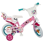 Bicicleta Minnie Mouse Club House 12 inch Roz, Toimsa
