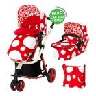 Sistem 2 in 1 Giggle Red Bubbles, Cosatto