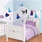 Kit Decor Disney Frozen cu 70 de Stickere, Walltastic