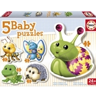 Puzzle Bebe cu Animale , Educa