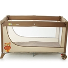 Patut Pliabil cu 1 Nivel Joy Brown, Kinderkraft