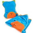 Set Perna si Pled SnooziHedz Blue, Trunki