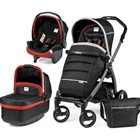 Carucior 3 in 1 Book Plus S Black POP-UP Synergy, Peg Perego
