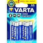 Set 6 Baterii AA High Energy, VARTA