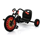 Go Kart Typhoon Black Red, Hauck