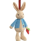 Peter Rabbit - Jucarie din Plus Muzicala 37cm, Rainbow Design