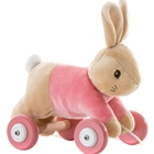 Flopsy Rabbit - Jucarie din Plus cu Roti, Rainbow Design