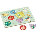 Peter Rabbit - Joc Puzzle din Lemn, Rainbow Design