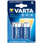 Set 2 Baterii C High Energy, VARTA