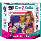 Set de Crosetat Ultimate Designer Cra-Z-Knitz Esarfa, Cra-Z-Art