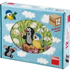 Puzzle Cubic Little Mole 12 Piese, Dino Toys