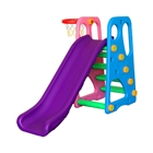 Centru de Joaca 2 in 1 Happy Slide Multicolor, Million Baby