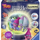 Puzzle 3D Luminos Trolls 72 Piese, Ravensburger