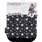 Saltea Carucior Comfi-Cush Black and White Stars, CuddleCo